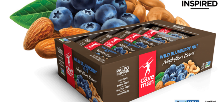 CaveMan Paleo Nutrition Bar Review – Wild Blueberry Nut