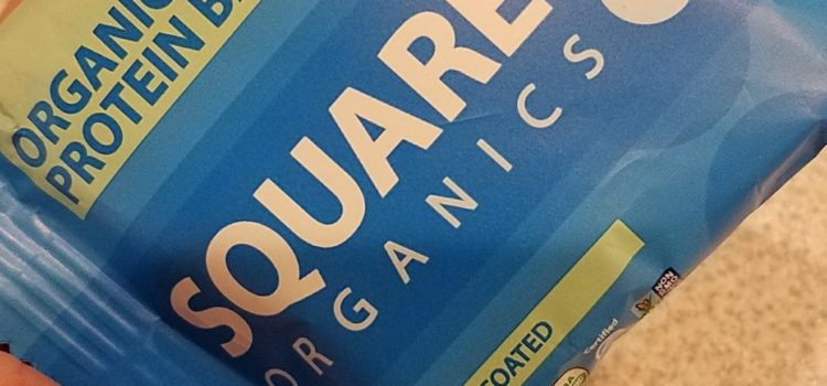 Square Organics Organic Protein Bar Review – Chocolate Coated Coconut
