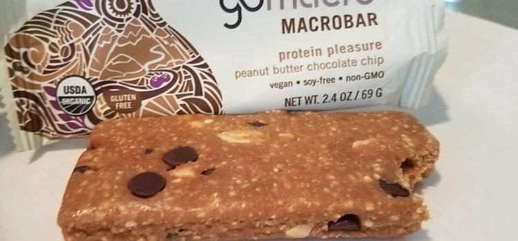 GoMacro Vegan Macrobar Review – Peanut Butter Chocolate Chip
