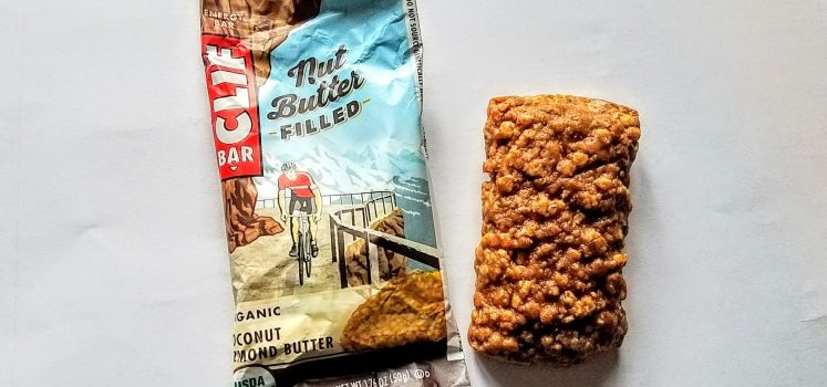Clif Bar Nut Butter Filled Vegan Bar Review – Coconut Almond Butter