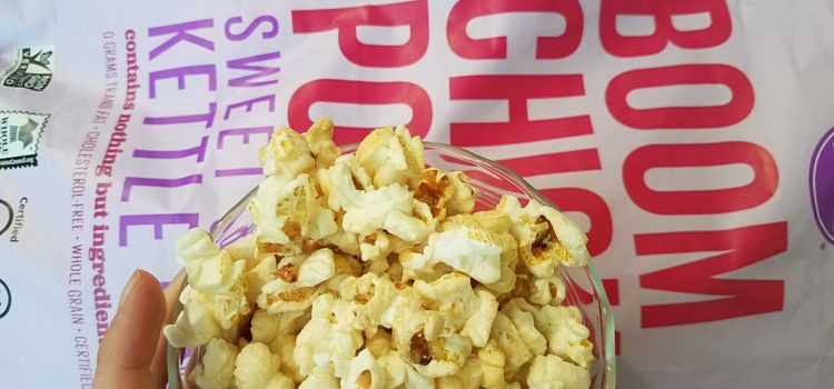 BoomChickaPop Review – Vegan Sweet and Salty Kettle Popcorn