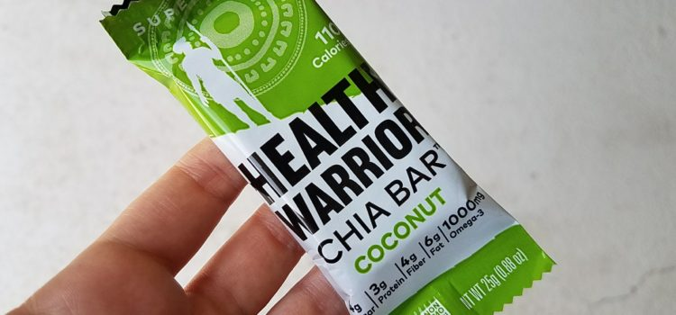 Health Warrior Chia Bar Review – Coconut