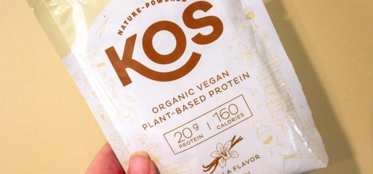 KOS Organic Plant-Based Vegan Protein Powder Review – Vanilla