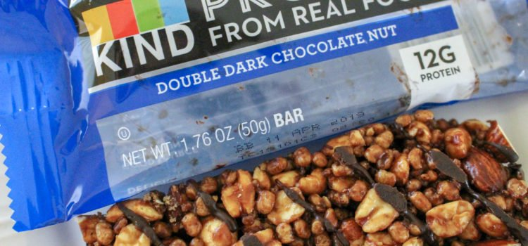 KIND Protein Bars Review  – Double Dark Chocolate Nut – And Are The KIND Protein Bars Vegan?