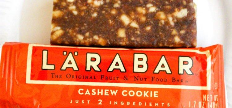 LÄRABAR Vegan Fruit and Nut Bar Review – Cashew Cookie