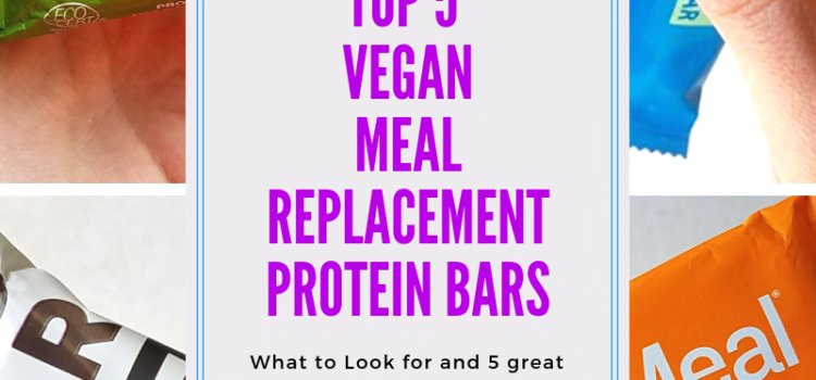 Top 5 Vegan Meal Replacement Protein Bars