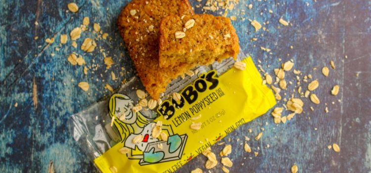 Bobo's Vegan Oat Bar Review – Lemon Poppyseed