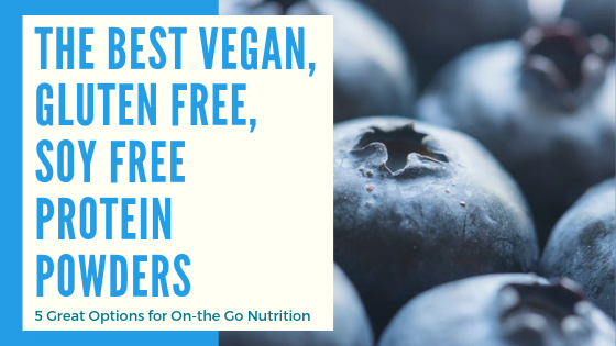 5 Soy Free and Gluten Free Vegan Protein Powders Review