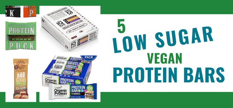 Low Sugar Vegan Protein Bars