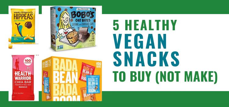 5 Healthy Vegan Snacks To Buy