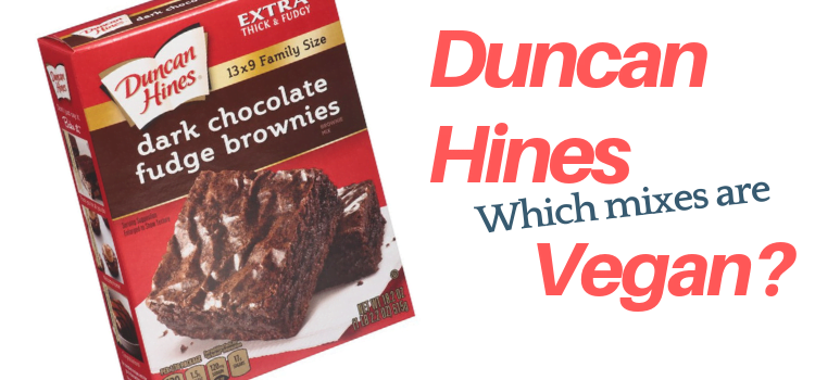Duncan Hines Vegan – Duncan Hines Brownie Mix