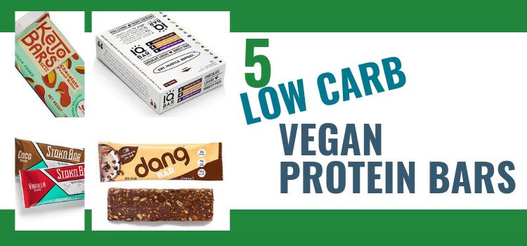 Low Carb Vegan Protein Bars