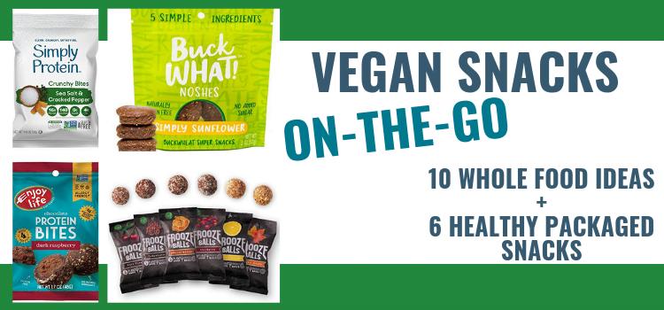 Vegan On The Go Snacks