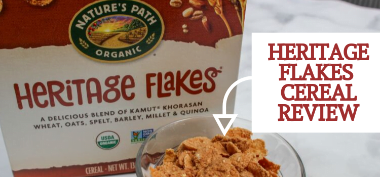 Nature's Path Heritage Flakes Whole Grain Cereal Review
