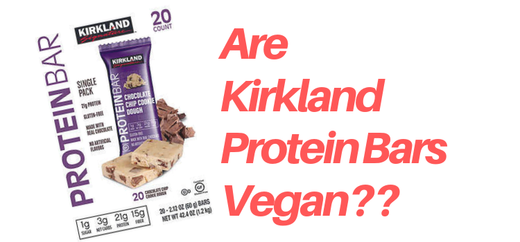 Are Kirkland Protein Bars Vegan?