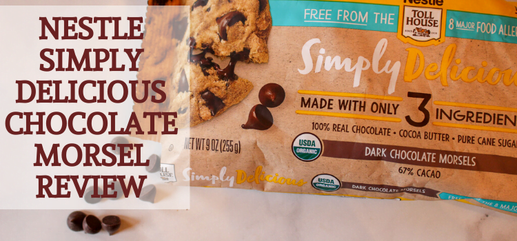Nestle Toll House Simply Delicious Allergen-Free Chocolate Morsel Review – Dark Chocolate