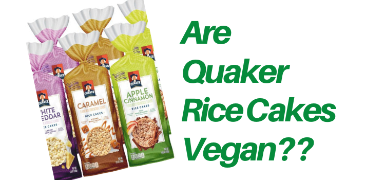 Are Quaker Rice Cakes Vegan?