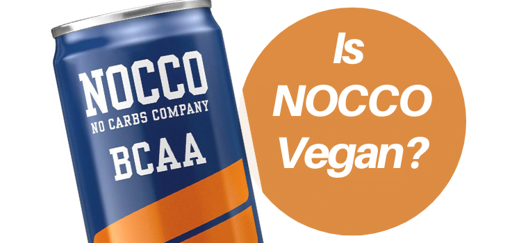 Is NOCCO Vegan?