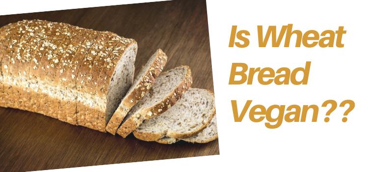 Is Wheat Bread Vegan?