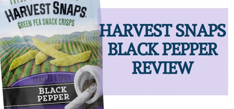 Harvest Snaps Vegan Snack Review – Black Pepper