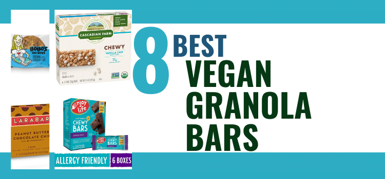 8 Vegan Granola Bar Brands